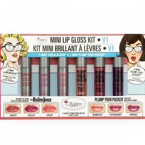 🛍️the Balm Cosmetics Mini Lipgloss Kit V1